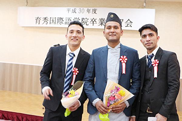 2018年度卒業式